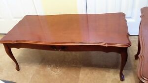 COFFEE TABLE & 2 END TABLES--NEAR MINT CONDITION