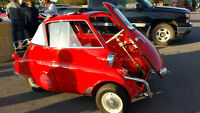 1957 BMW Isetta 300 Convertible (Urkel Car)
