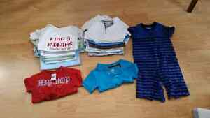 Boys summers clothes 6m to 12m