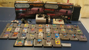 Original Nintendo [NES] Systems + Games + Accessories