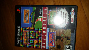 Namco museum Playstation 2 cib great condition