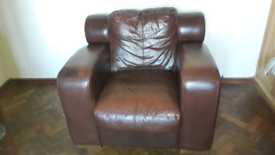 Leather Armchair Free for collection