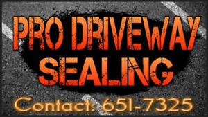 PRO DRIVEWAY SEALING - We Can Seal the Deal - FREE QUOTE