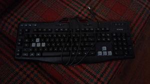 Logitech gaming keyboard