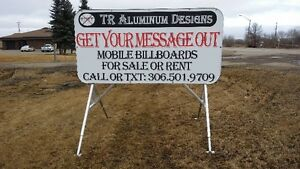 Aluminum Portable Advertising Signs (TR Aluminum Designs) Regina Regina Area image 7