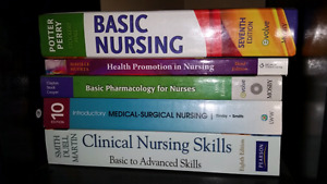 Nursing text books