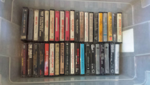 Eclectic Assortment of 100+ Cassette Tapes