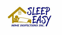 Sleep Easy Home Inspections Inc.> Inspections starting from $150