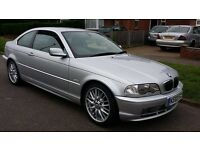 BMW 330ci, SILVER, MANUAL, VERY GOOD CONDITION OUTSIDE AND INSIDE, FOR SALE