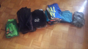 Lot of boys size 7 clothes