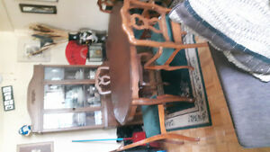 Hutch and Dining Set