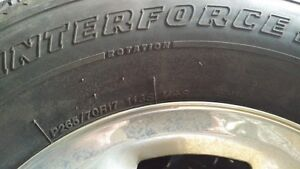 P265/70R17 Snow Tires Kitchener / Waterloo Kitchener Area image 1