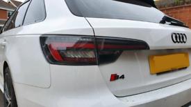 Genuine Audi A4/S4 Blackline rear lights