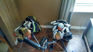 Viarity of Clubs, Irons, putters