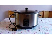 6.5L Morphy Richards Sear and Stew Slow Cooker