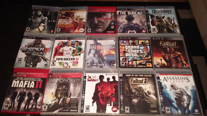 Ps3 Games for sale $10-15$ each