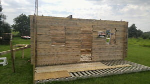 Solid wooden out-building: Man cave, storage shed, playhouse