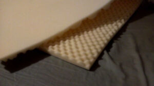 Matelas (surmatelas) neuf en mousse lit simple