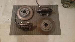 Brembo calipers and camaro ss rotors