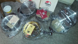 5 PIECE STAINLESS STEEL POTS & PANS