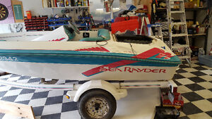 Sea Rayder Up Start sport jet boat project ** REDUCED **