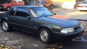 1990 5L mustang coupe