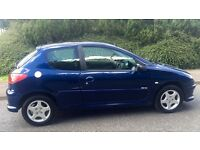 CHEAP PEUGEOT 206 VERVE 1.4L (2006) Year mot clean car