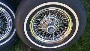 Cadillac Seville wire wheels for sale Gatineau Ottawa / Gatineau Area image 2