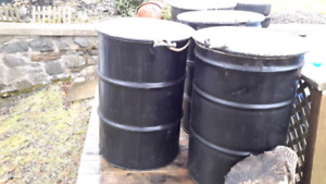 Burn barrels *** Phone 902 4526027