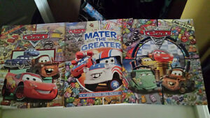 Cars look and find books