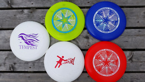 Ultimate Frisbee game disc