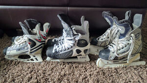 Junior Hockey Skates - three sizes available