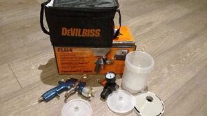 FinishLine FLG4 Gravity Feed Spray Gun Kit