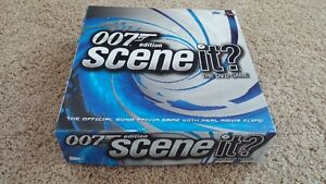 007 Special Edition 'Scene-It' DVD Game