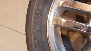 5x100 chev rims and tires Windsor Region Ontario image 2