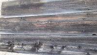 Barn Wood with Character