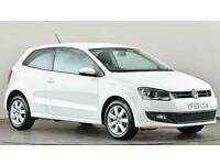 2013 Volkswagen Polo 1.4 Match Edition 3dr Hatchback petrol Manual