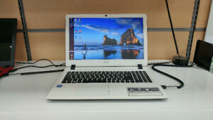 "EASY HOME: White Acer 15.6"" Screen - 245.00+ app. Taxes"