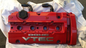 H22A Vtec Valve Cover Tapped for Boost