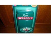 Pocket Travel Scrabble - Brand new in Unopened Pack