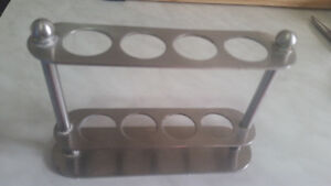 Metal test tube holder in great condition only 5$...............