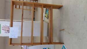 PINE SHELVES AND WOOD TOP COUNTERS FOR SALE
