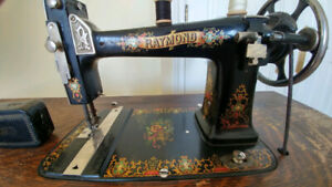 RAYMOND Antique Sewing Machine-Good Condition-Great Grandparents