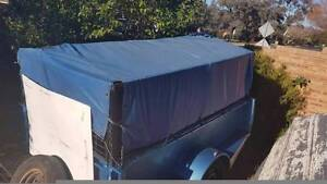 8x5 high sided box trailer heavy duty with cage nsw rego Holder Weston Creek Preview