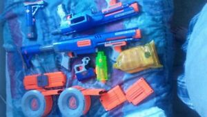 Nerf gun raider cs- 35s all attachments
