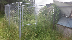 10 x 10 x 6 kennel - Never used - 749 new at TSC
