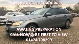 2011 MERCEDES C-CLASS C180 BLUEEFFICIENCY 1.8 SE EDITION 125 AUTO ESTATE PETROL