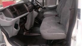 2011 61 FORD TRANSIT 2.4 350 DRW 1D 115 BHP 6 SEATER CREW CAB TIPPER /// DIESEL