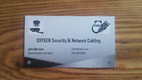 OXYGEN Security & Network Cabling