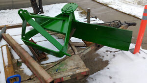 6 foot 3 point blade. For your acreage tractor